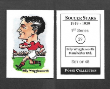 Manchester United Billy Wrigglesworth 29 (FC)